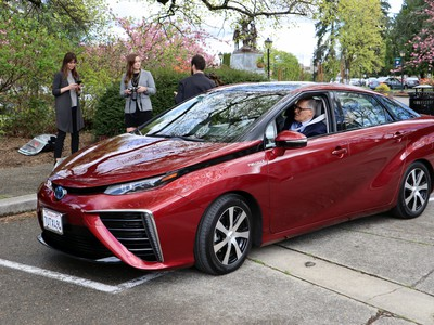 Is There Room For Hydrogen-Powered Cars In A Future That Looks Electric?