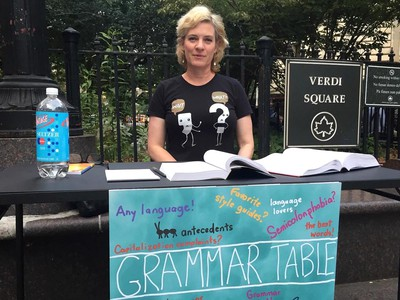 This Grammar Cop Monitors Language On The Streets Of Manhattan