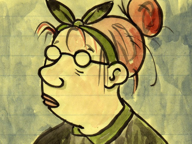 Cartoonist Lynda Barry Drawing Has To Come Out Of Your