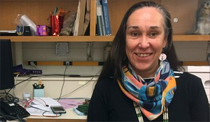 Polly Olsen is the first-ever tribal liaison at the Burke Museum. A member of the Yakama Nation, she was hired last year to consult with tribal elders across the Northwest so that their stories could better be told when a new Burke museum opens its doors next year.