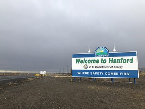 A worker at the Hanford Nuclear Site was recently contaminated with a speck of radioactive material.