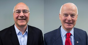 Brad Avakian (left) and Dennis Richardson