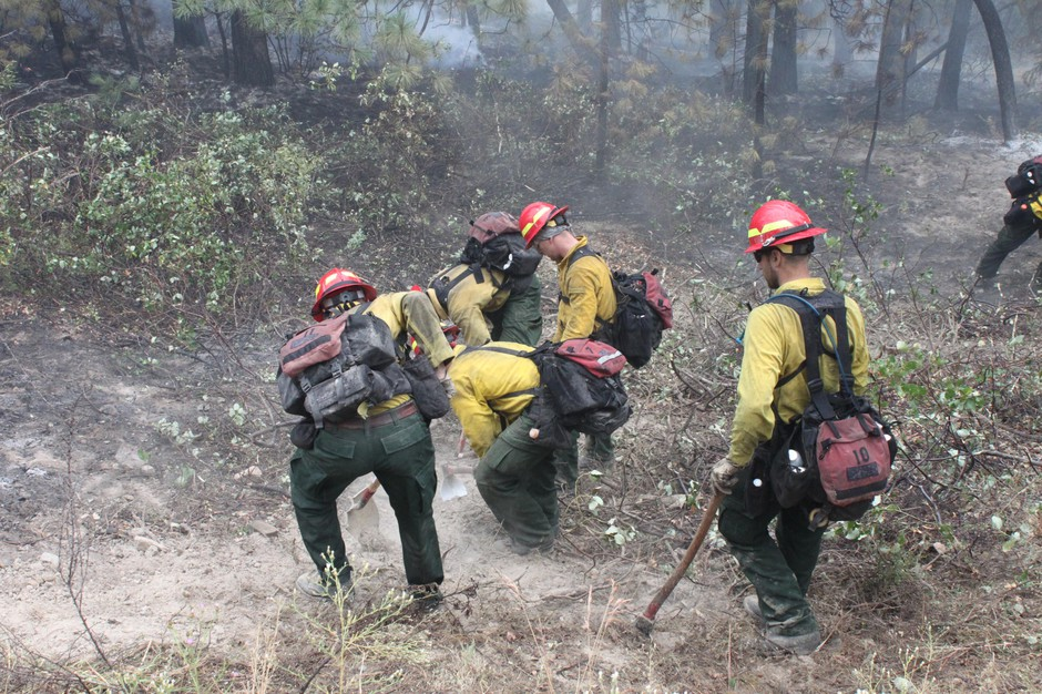 """Fire camps could be hazardous places for firefighters this year with COVID-19, while managers are planning hard to make them as safe as possible. But even in a normal year, firefighters say they try to avoid the """"camp crud."""""""