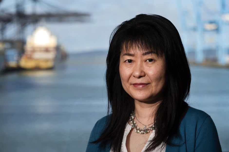 Tong Zhu is the Chief Commercial Officer of the Northwest Seaport Alliance that controls the Port of Tacoma and the Port of Seattle.