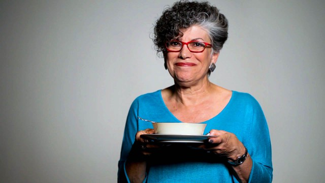 Laurie Fendel shares her Bubbie Ida's recipe for chicken soup with knaidlach (matzo balls).