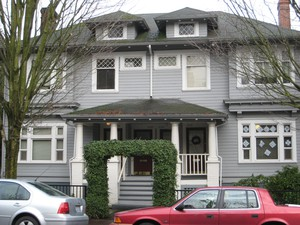 A multi-family home in Portland. The Residential Infill Project aims to promote the construction of such homes.