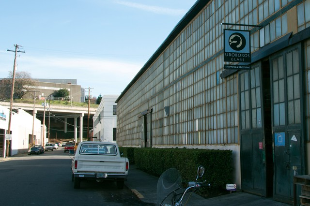 Uroboros Glass voluntarily stopped using cadmium following moss testing that found a hot spot for the heavy metal near its North Portland location.