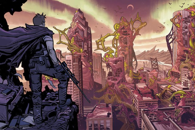 "Artist Lorenzo De Felici illustrates Robert Kirkman's monster-filled alternate dimension in ""Oblivion Song."""