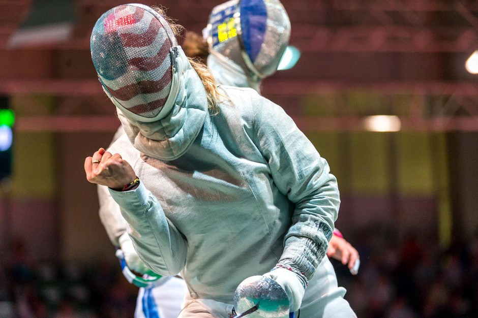Legendary fencer Mariel Zagunis qualified for her fifth Olympics in 2020. The Games have now been postponed until 2021.