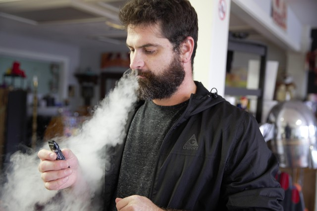 A judge has put a stay on Oregon's ban of flavored vaping products containing nicotine. But the ban remains in place for cannabis products.