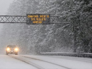 A snowstorm will pummel the Oregon Cascades and Coast Range the weekend of Feb. 17, 2018. Some could reach the valley floor.