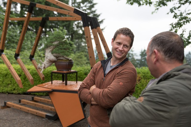 Ryan Neil's quest to elevate bonsai from a gardening craft to a high art is on display at the Japanese Garden from May 21–June 19.