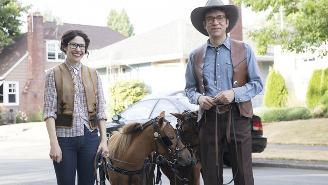 """Carrie Brownstein and Fred Armisen star in the eighth and final season of """"Portlandia."""""""