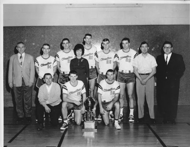 The Claudia's AAU basketball team dominated the AAU league in the 1960s and 1970s.