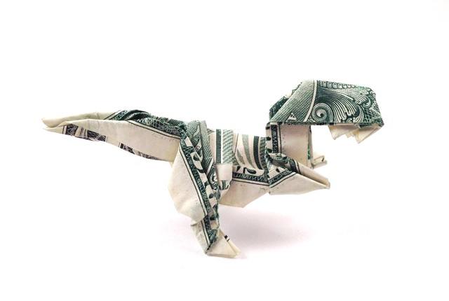 Janessa Munts Dollar Bill Origami Arts Life Opb