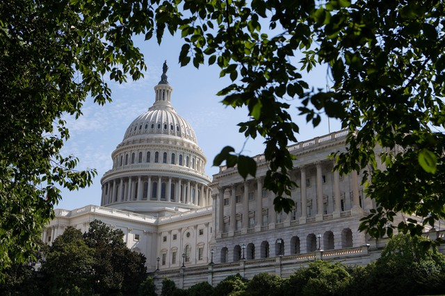 The United States Capitol, pictured Aug. 3, 2017.