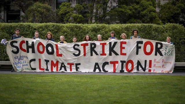 Students in Eugene ready to take part in Strike 4 Climate, part of a national strategy with the group Our Children's Trust and its federal lawsuit to enact climate change policies.