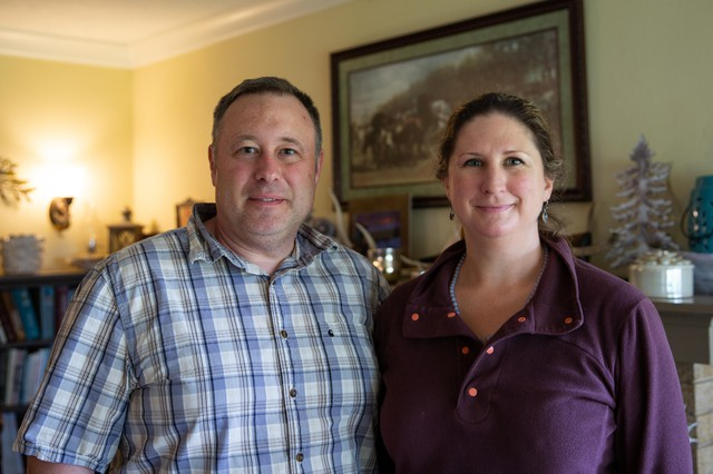 Eric and April Eaton have two children attending Corbett Schools, and they both grew up in Corbett.