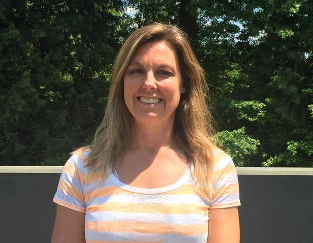 Heather Roberts is the new coach for the boys varsity basketball team at Yamhill Carlton High School.