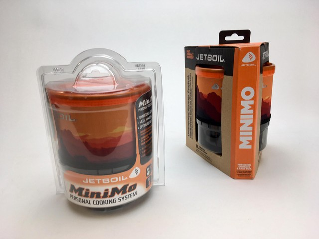 BillerudKorsnäs designers created a cardboard replacement to the plastic casing Jetboil was using for its camping stoves.