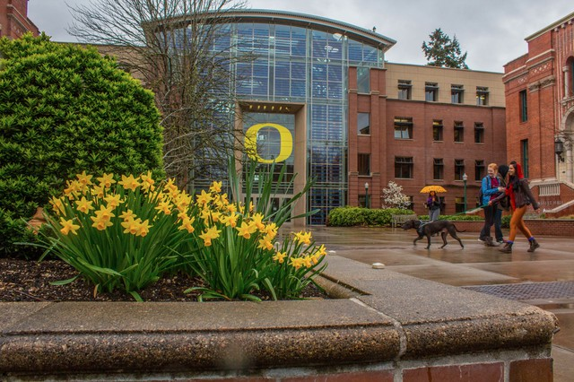 The University of Oregon relies on about $100 million a year in federal grants to help pay research staff members' salaries.