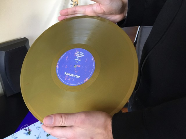David Staley shows me thesix-song Deliverance EP. The album is at the center of a legal challenge brought by Prince's estate.