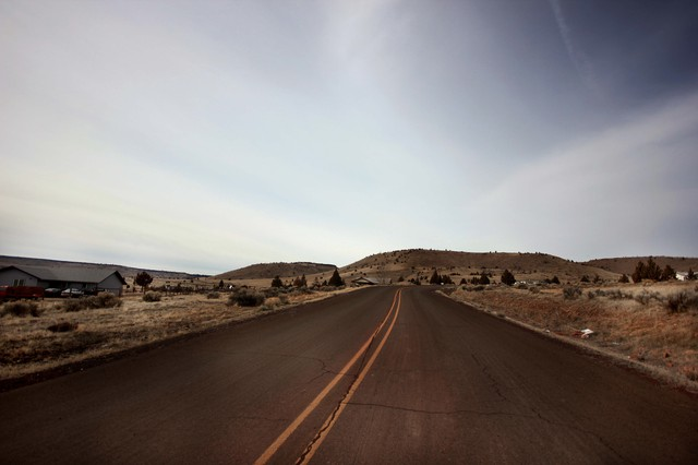 Sunnyside Road on the Warm Springs Reservation