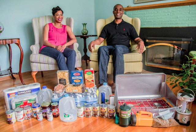 "Ed and Sara Johnson of Southeast Portland say their biggest reason for participating in the ""Living Off Your Quake Kit"" project is to learn more about how they need to be prepared for natural disaster and to spread that information to others."