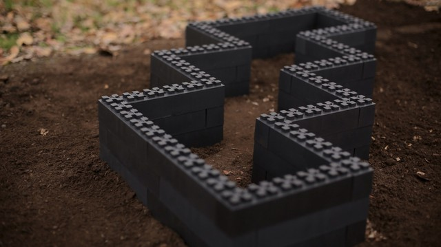 With Giant Lego Like Blocks Made Out Of Recycled Plastic, You Can Design  Your