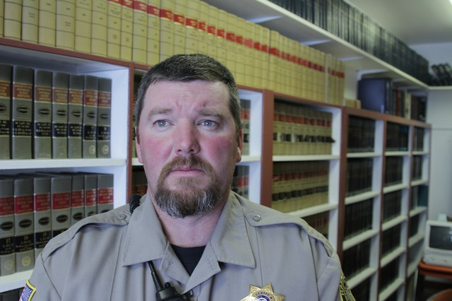 Armed occupiers have disrupted community life for residents in Burns, Oregon, said Harney County Sheriff David Ward.