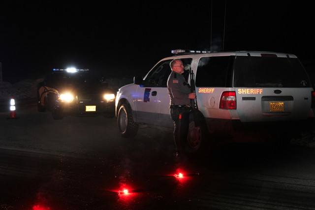 When Grant County Sheriff Glenn Palmer heard about the Oregon State Police traffic stop and the shooting along Highway 395, he traveled to the roadblock near Seneca. He said he had no knowledge of law enforcement's plans.