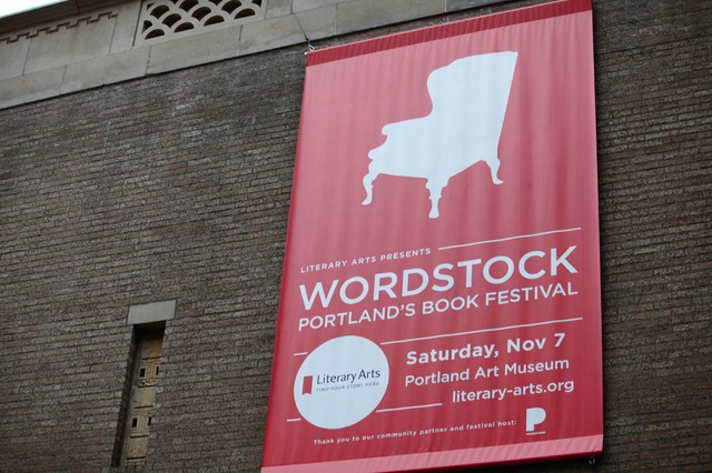 Wordstock at the Portland Art Museum, Nov. 7, 2015.