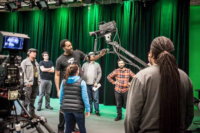 Open Signal has one of the few green screen studios in Portland, and it's available to anyone with the proper training and an idea.