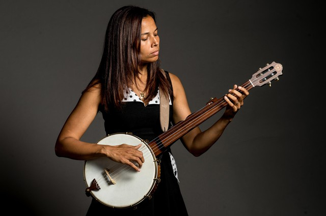 "Iconoclastic string player and composer Rhiannon Giddens revived African-American folk music traditions with her band, the Carolina Chocolate Drops. She hosts the ""Aria Code"" podcast, a co-production of WQXR, WNYC, and the Metropolitan Opera."