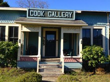 Cook Gallery in Port Orford