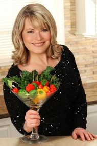 "Laura Theodore, host of ""Jazzy Vegetarian"""