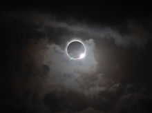 Total eclipse viewed from Australia, Nov. 14, 2012.