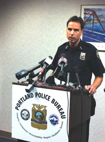 Portland Police Chief Mike Reese - File Photo