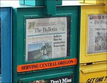 Bend Bulletin newspaper (file)