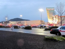 Emergency crews respond to a shooting at Clackamas Town Center.