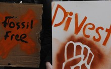 The climate activist group 350.org is asking churches, cities and universities to divest from fossil fuel corporations.
