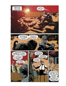 Artwork from The Death Defying Dr. Mirage (click to expand)