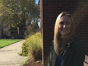 Skye Hanna teaches kindergarten at Rosa Parks Elementary School in North Portland, but is attracted to higher-paying teaching jobs in Washington.