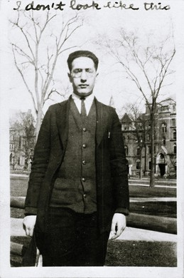 Mark Rothko, in his college years.