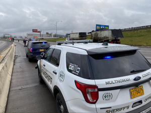 The Multnomah County Sheriff's Office responded to a second fatal crash on Interstate 84 on the morning of Tuesday, Nov. 19, 2019.