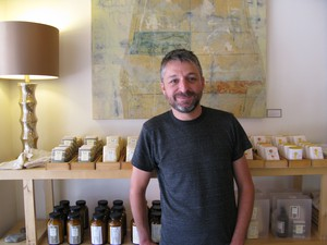 """Visitor spending in Wallowa County has grown from $16.5 million a year in 2000 to $26.5 million now. """"I see it getting busier and busier every year,"""" says beecrowbee owner and soapmaker Will Roundy of Joseph's economy. """"My downtime is shorter and shorter every year. For businesses on Main Street, it's been great."""" Roundy is one of several locals who returned after college to start business."""