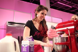 "Kyra Bussanich is a four-time winner of ""Cupcake Wars."""