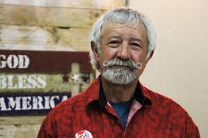 Boyd Britton has been a Grant County Commissioner since 2004. He also owns a local welding business.