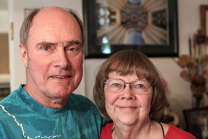 Paulette and Larry Filzof Portland have traveled around the world to see total eclipses.