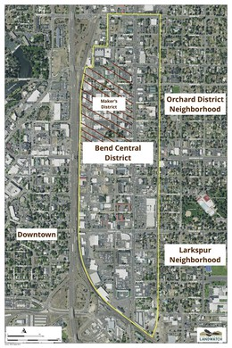 Bend's Central District is in a prime area for new mixed-use development, according to advocates of neighborhood revitalization.